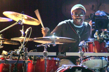 Nate Morton of The Voice : Modern Drummer