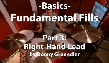 Video Lesson! Fundamental Fills, Part 3