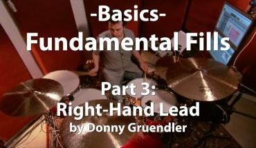 Video Lesson! Fundamental Fills, Part 3