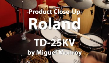 Video Demo! Roland, TD-25KV V-Drums Kit