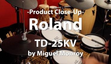 Video Demo! Roland, TD-25KV V-Drums Kit