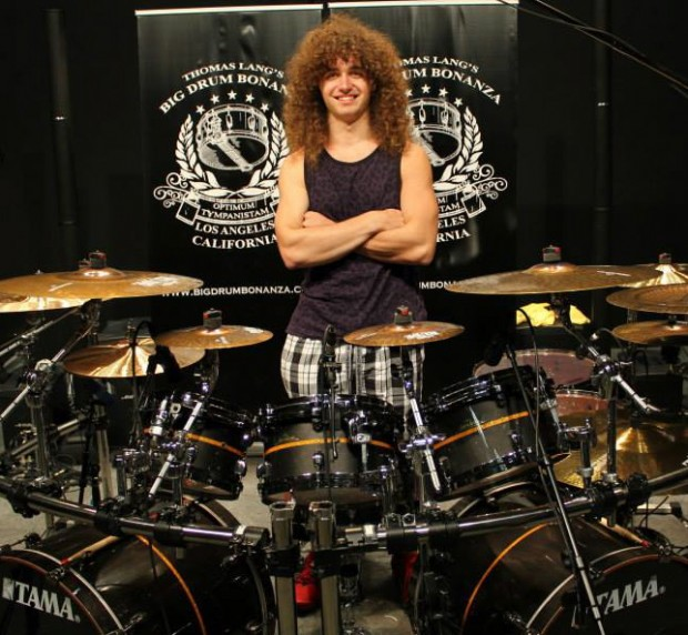 Drummer Andre Jevnik of the All Ways