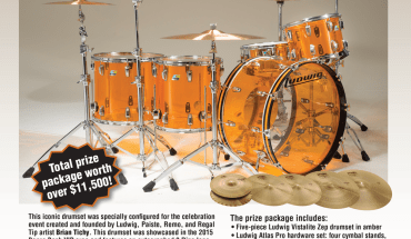 Win a complete set of Ludwig drums and Paiste cymbals fresh from Bonzo Bash 2015!