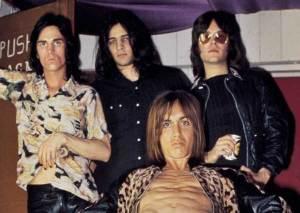 The Stooges, 1972. From left: James Williamson, Scott Asheton, Iggy Pop, and Ron Asheton