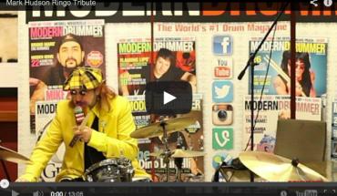 Mark Hudson Ringo Tribute Video