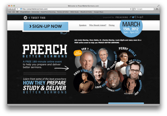 Preach Better Sermons: A Free Online Conference