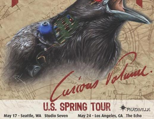 pentagram curious volume us spring 2016 tour