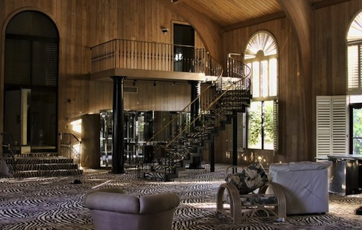 Inside Mike Tyson's Abandoned Mansion zebra print