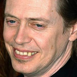 Steve Buscemi with snaggletooth
