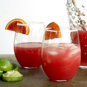 Cinco de Mayo cocktail: Pear vodka and blood-orange soda