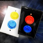 Pew! Pew! The Arcade-Button Light Switch