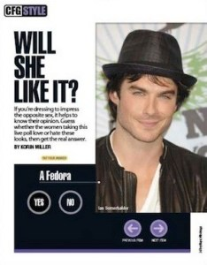 Cosmo For Guys Ian Somerhalder