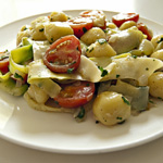 Guy Recipes: Gnocchi with Zucchini & Brown Butter