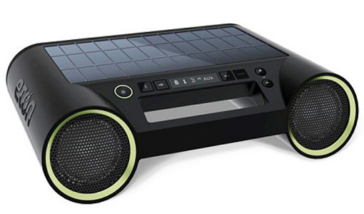 solar powered boombox rukus