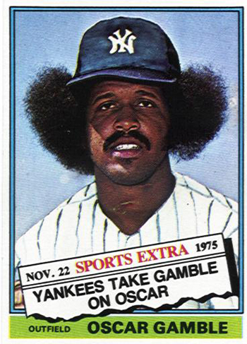 16 More Hilarious Old Baseball Cards oscar gamble