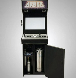 arkeg video games beer