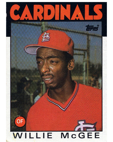 16 More Hilarious Old Baseball Cards willie mcgee