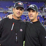 Jim Harbaugh vs. John Harbaugh