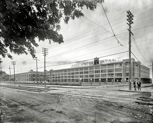 Ford Motor Co Photos: Detroit Looking Far Less Detroity