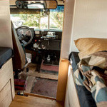 Man Turns Useless School Bus Into Sweet Motorhome