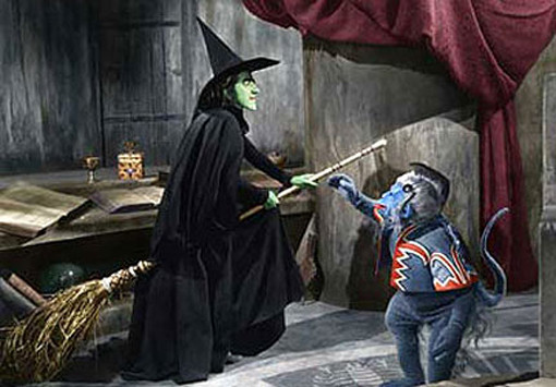 18 Reasons The Wizard of Oz Is Really A Guy Movie flying monkeys