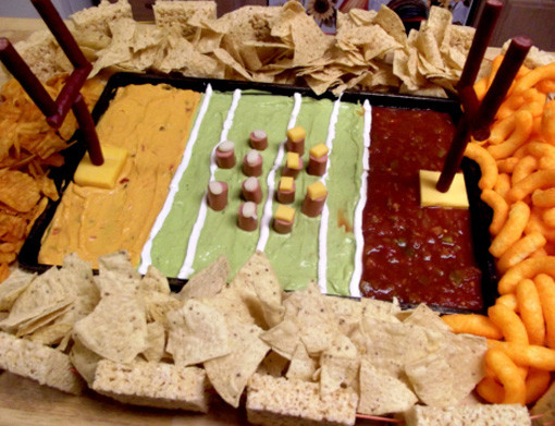10 Amazing Super Bowl Stadiums … Made Out Of Food dip