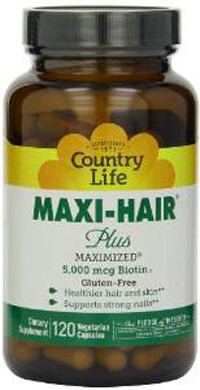 Best Hair-Loss Supplements For Balding Men country life maxi-hair