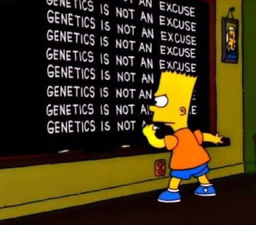 exercise and fitness myths genetics