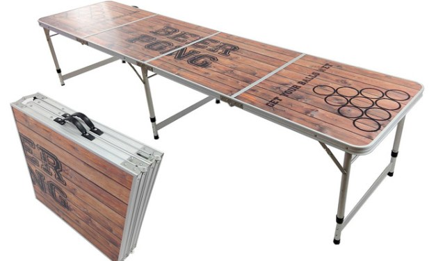 5 Portable Beer Pong Tables You Can Totally Afford