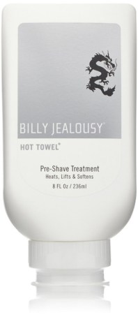 billy jealousy hot towel