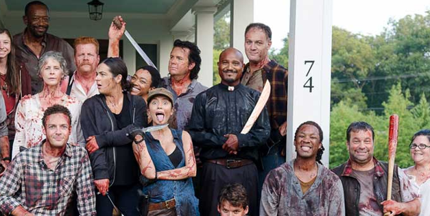Photos: Behind-The-Scenes of <i>The Walking Dead</i>