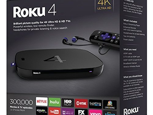 Roku 4 Better Make It Under Our Tree, Santa. Or Else