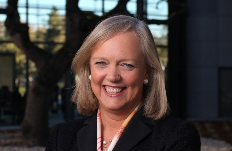 Meg Whitman not voting trump