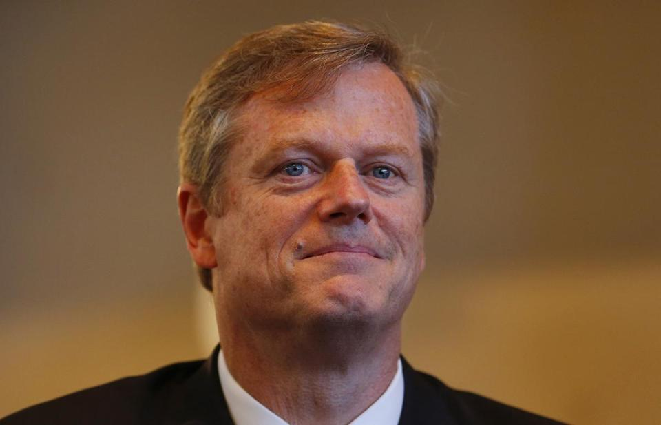 Gov. Charlie Baker not voting trump