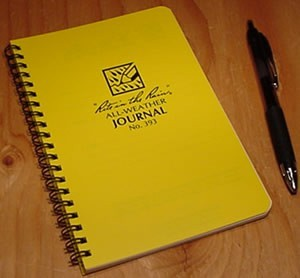 Rite in the Rain 393 weatherproof journal