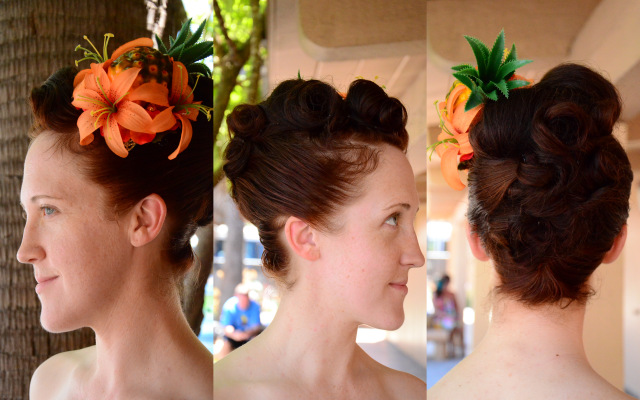 Pinup Hair, all sides