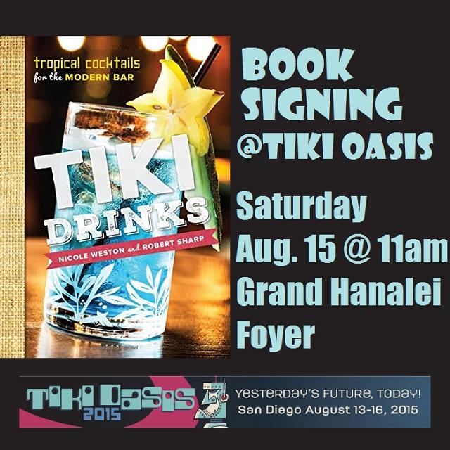 Tiki Drinks Book Signing at Tiki Oasis