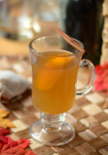 Spiced Rum Hot Toddy #1