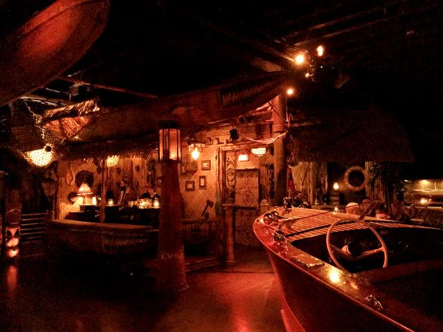 Inside Pacific Seas Tiki Bar