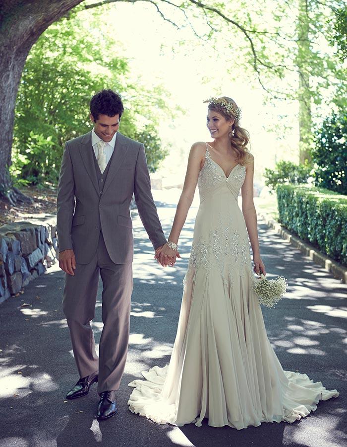 Love In The Gables Garden Wedding Dresses Modern Wedding