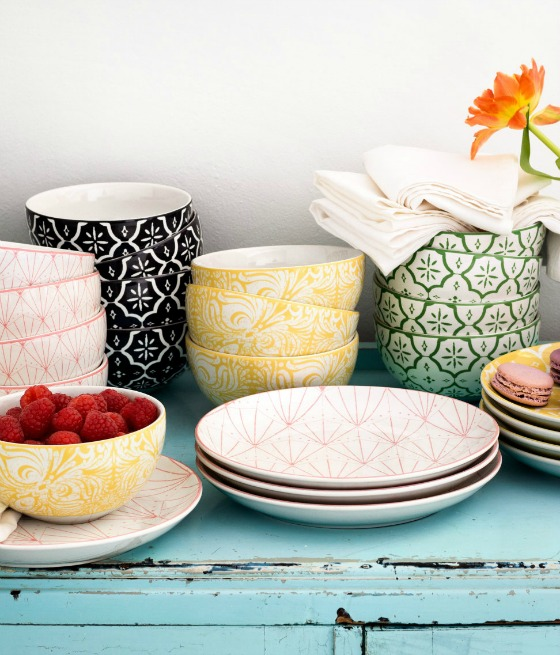 modflowers: summer crockery from H&M