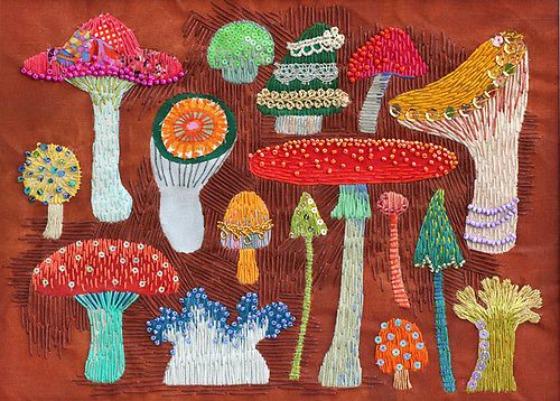 modflowers: kimika hara - mushrooms