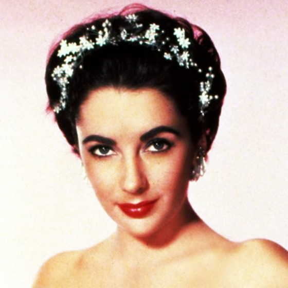 modflowers; liz taylor