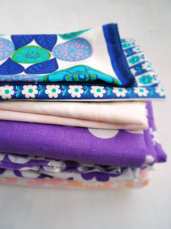 modflowers: vintage fabrics from the Festival of Quilts