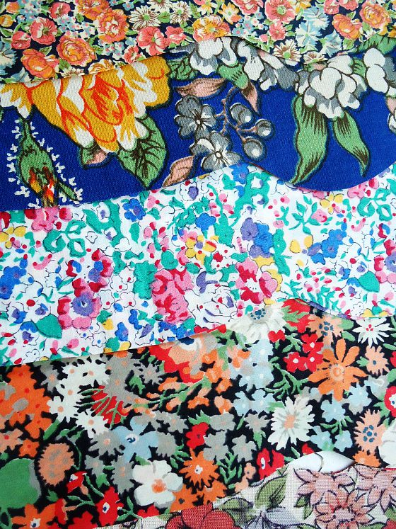 modflowers: liberty fabrics