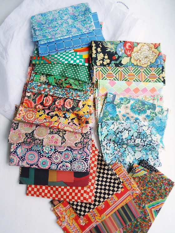 modflowers: vintage liberty fabric parcel