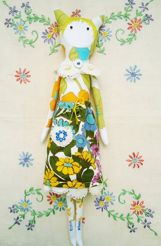 modflowers: cat doll commission - 1 560