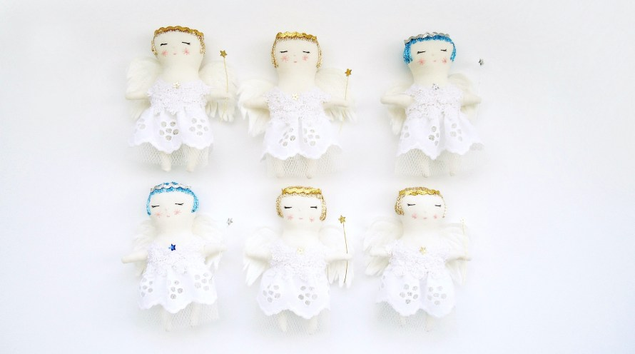 Christmas angels by modflowers