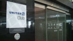 United Club Denver Entrance