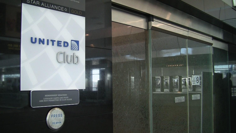 United Club Denver Entrance
